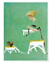 Premium poster  Home ties - Clarence Coles Phillips
