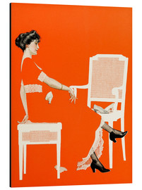 Aluminium print  The survival of the fittest - Clarence Coles Phillips