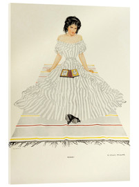 Acrylic print  Which - Clarence Coles Phillips