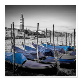 Premium poster VENICE Heavenly Urban Lagoon