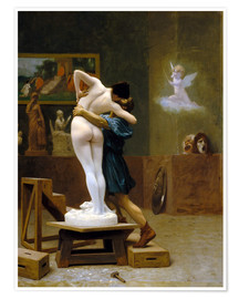 Premium poster Pygmalion and Galatea