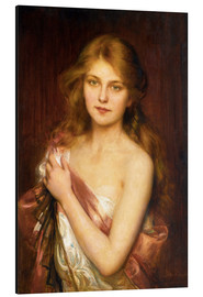 Aluminium print  A young beauty - Albert Lynch