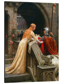 Alu-Dibond  God Speed! - Edmund Blair Leighton