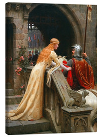 Canvas print  God Speed - Edmund Blair Leighton