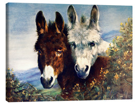 Canvas  The Wise Ones (Donkeys) - Lilian Cheviot