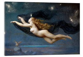 Acrylic print  The Night - Auguste Raynaud
