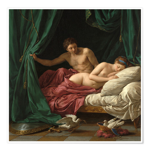 Premium poster Mars and Venus an allegory of Peace