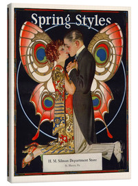 Canvas print  Spring fashion 1924 - Joseph Christian Leyendecker