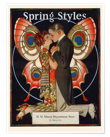 Poster Spring Styles, 1924