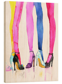Wood  Legs and heels - Rongrong DeVoe