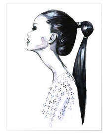 Poster  Ponytail - Rongrong DeVoe