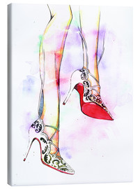 Canvas  Hot high heels - Rongrong DeVoe