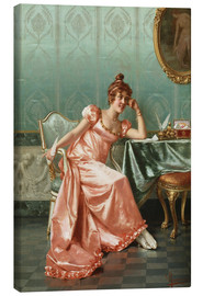 Canvas print  Write a letter - Vittorio Reggianini