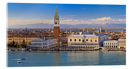 Acrylic print  Venice view to the Alps - Fine Art Images