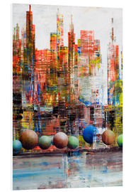 Forex  Manhattan, abstract - Gerhard Kraus