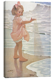 Canvas print  Little drops of water - Jessie Willcox Smith