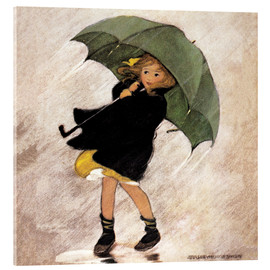 Jessie Willcox Smith - Rainy day