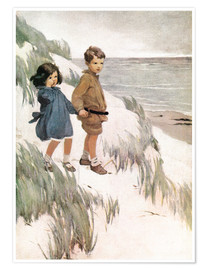 Premium poster  Baa Baa Black Sheep - Jessie Willcox Smith