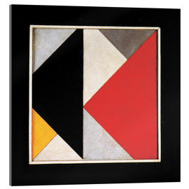 Acrylic print  Counter Composition XIII - Theo van Doesburg