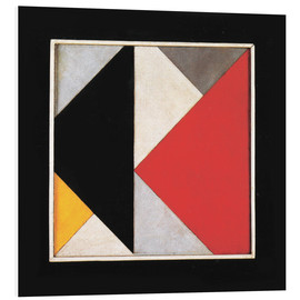 Foam board print  Counter Composition XIII - Theo van Doesburg