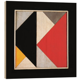Wood print  Counter Composition XIII - Theo van Doesburg
