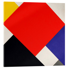 Acrylic glass  Counter Composition V - Theo van Doesburg