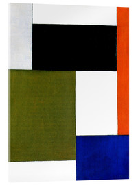 Acrylic print  Composition 1923 - Theo van Doesburg