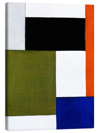 Canvas print  Composition 1923 - Theo van Doesburg