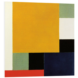 Foam board print  Composition XXII - Theo van Doesburg