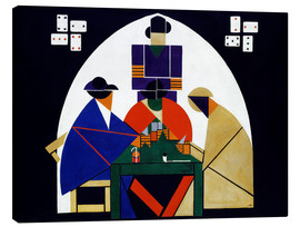 Canvas  Card players - Theo van Doesburg