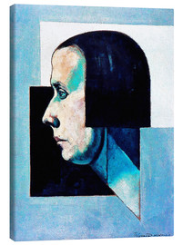 Canvas print  Face Dadaism - Theo van Doesburg
