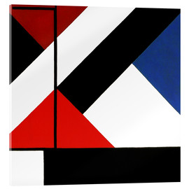 Acrylic print  simultaneous counter composition - Theo van Doesburg