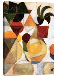 Canvas print  Composition III Still Life - Theo van Doesburg