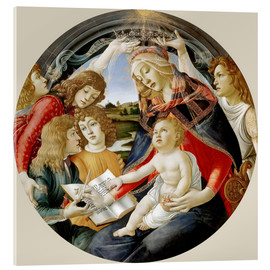 Acrylic print  Madonna of the Magnificat - Sandro Botticelli