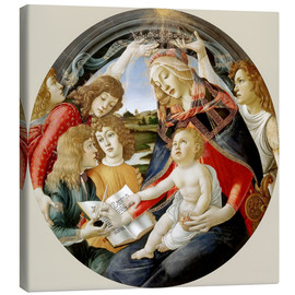 Canvas print  Madonna of the Magnificat - Sandro Botticelli