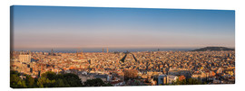 Canvas  Barcelona Panorama - Siegfried Heinrich