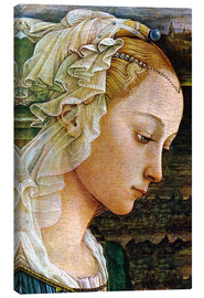 Canvas print  Madonna (detail) - Sandro Botticelli