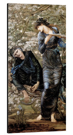 Aluminium print  Beguiling of Merlin - Edward Burne-Jones