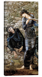 Canvas print  Beguiling of Merlin - Edward Burne-Jones