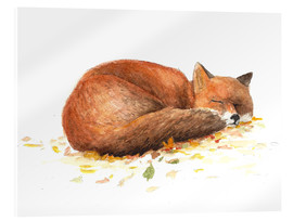 Acrylic glass  fox - Nadine Conrad