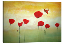 Canvas  Butterfly - Tina Melz