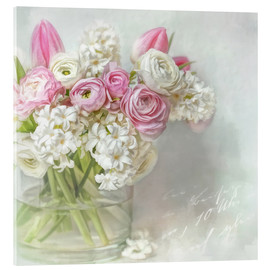 Acrylic glass  pretty spring - Lizzy Pe