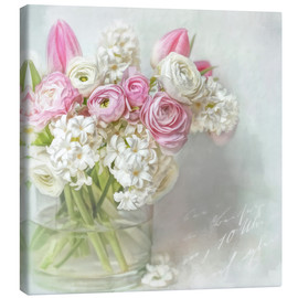 Canvas print  pretty spring - Lizzy Pe