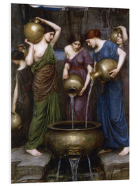 Foam board print  Danaïdes - John William Waterhouse