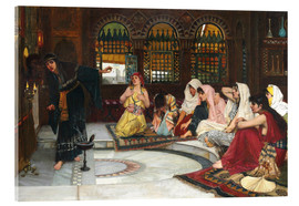 Acrylic print  Consulting The Oracle - John William Waterhouse