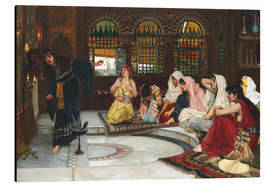 Aluminium print  Consulting The Oracle - John William Waterhouse