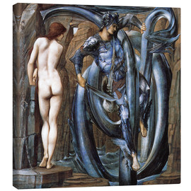 Canvas print  The Doom Fulfilled - Edward Burne-Jones