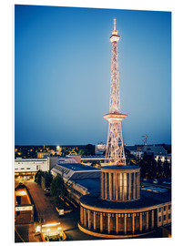 Foam board print  Berlin - Funkturm Radio Tower - Alexander Voss