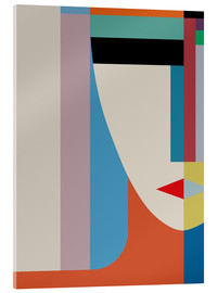 Acrylic glass  ABSOLUTE FACE - THE USUAL DESIGNERS