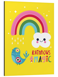 Alu-Dibond  Rainbows and magic - Kat Kalindi Cameron